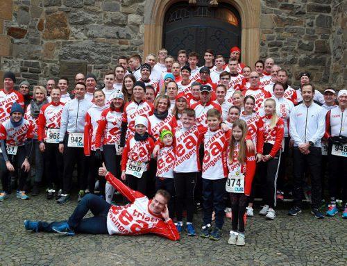 52 Athletinnen und Athleten beim Ratinger Neujahrslauf