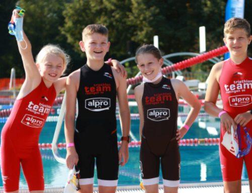 TTR08-Nachwuchs beim Triathlon in Willich